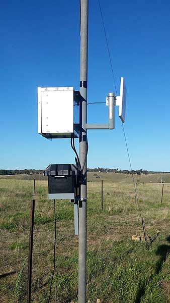 Twin Peak Pro G Spotter and Optus Home Gateway remote WiFi setup on farm